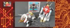 Labels for Dinorobots Flamethrower