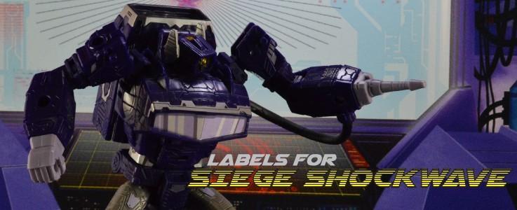 Labels for Siege Shockwave