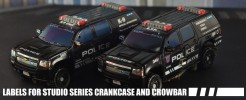Labels for Studio Series Crankcase and Crowbar