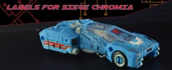 Labels for Siege Chromia