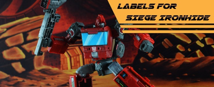 Labels for Siege Ironhide