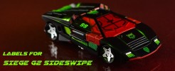 Labels for Siege Sideswipe G2