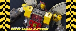 Labels for Siege Omega Surpeme
