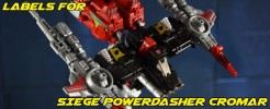 Labels for Siege Powerdasher Cromar