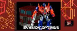 Labels for AoE Evasion Optimus Prime