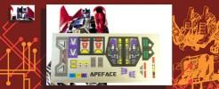Labels for Apeface