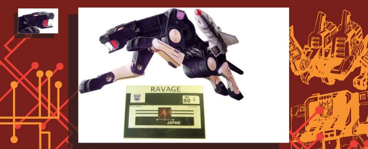 Labels for Ravage
