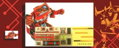 Labels for Ironhide