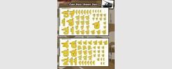 Maggot Numbers (2 sheet set)