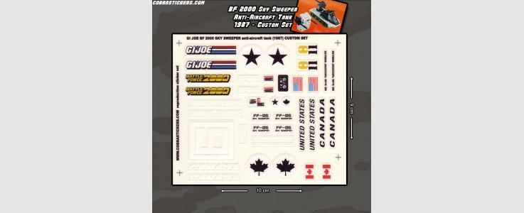 Battle Force 2000 Sky Sweeper - Anti-Aircraft Tank