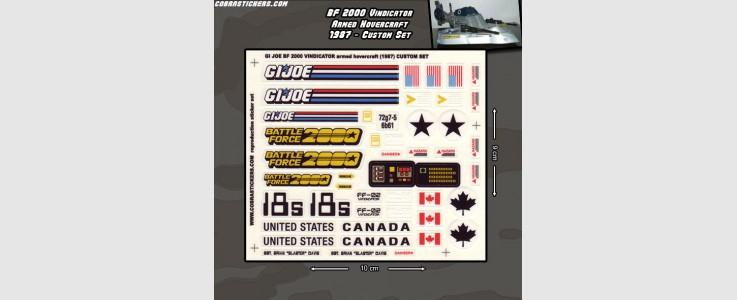 Battle Force 2000 Vindicator - Armed Hovercraft