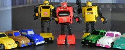 Labels for Impossible Toys Minibots