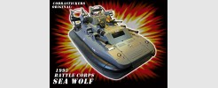 for GI JOE Sea Wolf hovercraft (1995)