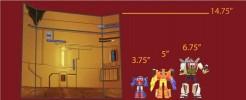 Herobot Wall Cube Shelf (A)
