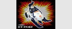 JOE Cobra Ice Snake arctic attack vehicle (1993)