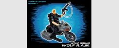for GI JOE Wolf Squad Wolf RAM motorcycle (2017)