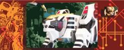 Labels for White Tigerzord