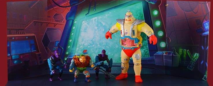 Stages for TMNT