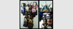 Labels for Shogun Megazord