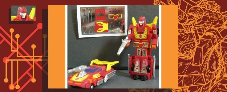 Labels for WST Hot Rodimus