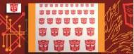 Symbols for Autobots (White backed)