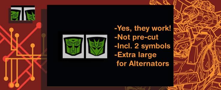 Rub signs for Alternators