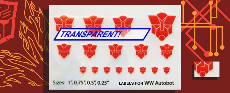 Symbols for WW Autobots