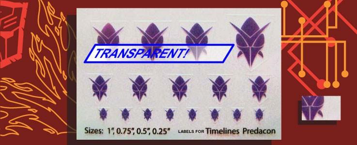 Symbols for TL Predacons
