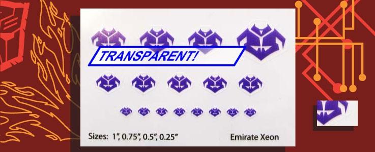 Symbols for Emirate Xeon