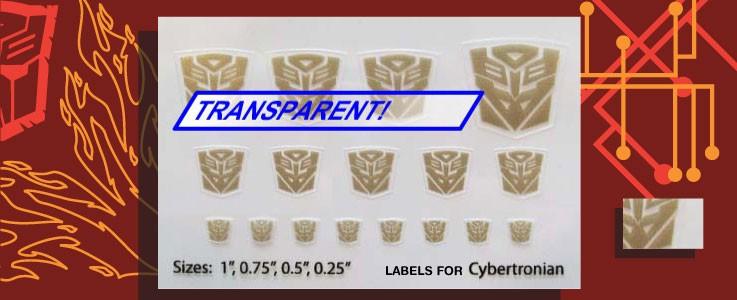 Symbols for Cybertonians