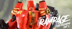 Labels for POTP Predaking Set A (POTP Rampage)