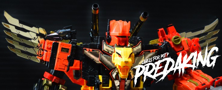 Ins Labels /& Guns Transformers Power of the Primes PREDAKING Predacon DIVEBOMB