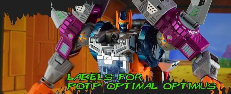 Labels for POTP Optimal Optimus