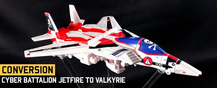 Labels for Hasbro CB Jetfire Valkyrie