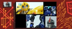Labels for TF:Prime Bumblebee and 1st Ed. Arcee