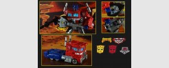 Parts and Labels for Siege Optimus Prime