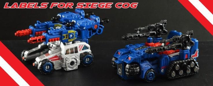Labels for Siege Cog