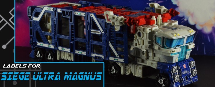 Labels for Siege Ultra Magnus
