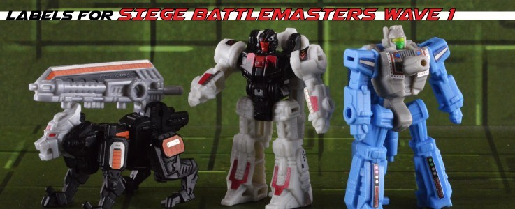 Labels for Siege Battlemasters Wave 1