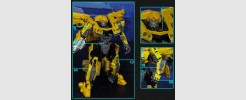 Labels for Studio Series Camero Bumblebee