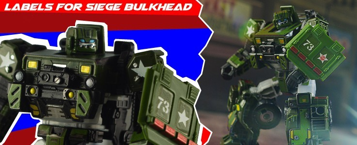 Labels and Roof for Siege Bulkhead