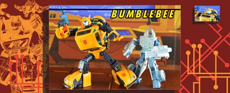 Labels for MP-21 Bumble