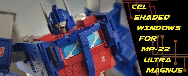 Labels for MP-22 Ultra Magnus Cel Shaded