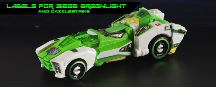 Labels for Siege Greenlight and Dazzlestrike