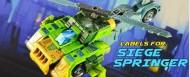 Labels for Siege Springer
