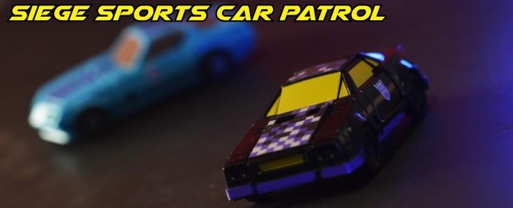 Labels for Siege Sports Car Patrol