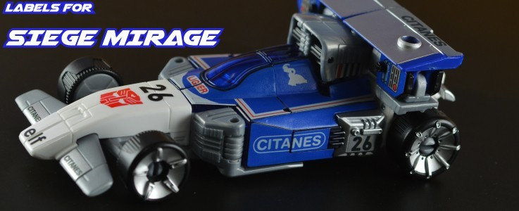 Labels for Siege Mirage