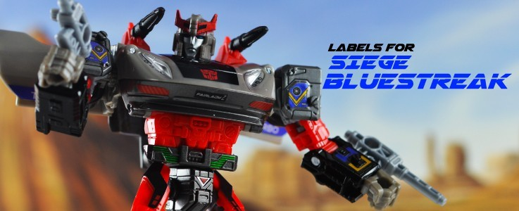 Labels and Parts for Siege Bluestreak
