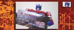 Labels for MP-01 Optimus Prime