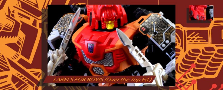 Labels for MMC Bovis (Over the Top Ed.)